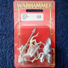1997 Undead Wight on Skeleton Steed 1.3 Warhammer Cavalry Mounted Citadel MIB GW