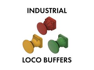Industrial Loco Buffers (1:76 Scale)
