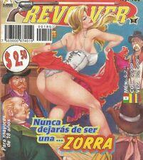 LA LEY DEL REVOLVER MEXICAN COMIC #180 MEXICO SPANISH HISTORIETA 1998 WESTERN