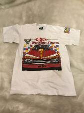 Vtg 1988 NHRA Winston Finals California Car Racing Shirt Mens Small