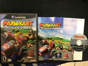 Mario Kart: Double Dash!! (GameCube, 2003) Complete in Box