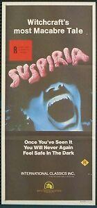 Suspiria - original daybill (UNUSED)