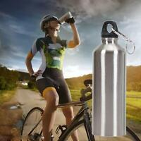 750ML Stainless Steel Small Mouth Drinking Water Bottle Sports Gym Drink Kettle