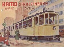 catalogo HAMO 1956 STRASSENBAHN Spur HO Frühjahr          D     aa