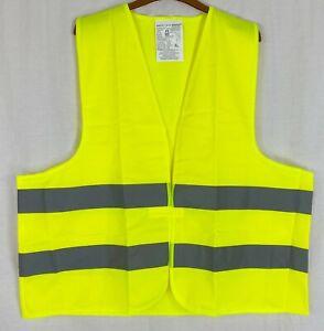 Hi-Viz Work Vests XL Glow Safety Equipment x 2