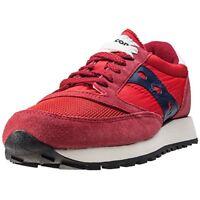 Saucoy jazz original, scarpa bassa sportiva, scarpa da uomo, colore rosso