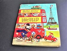 Richard Scarry - Busy, Busy World - HB-1973 Giant Golden Book 33 adventures.