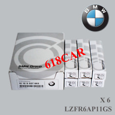 NGK LZFR6AP11GS 6PCS Spark Plugs  for BMW  Laser Platinum 12120037663