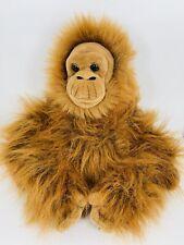 "Aurora 14"" WWF Adoption 2007 Plush Stuffed Animal Orangutan Monkey Brown"