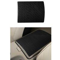Carbon Fiber Console Center Armrest Storage Box Panel Cover Trim For 350Z 06-09