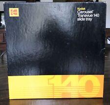 Kodak Carousel Transvue 140 Projector Slide Tray w/ box