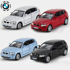 1:34 BMW 1 Series Diecast Model Metal Car Kid Pull Back Vehicle Decor Toy Gift
