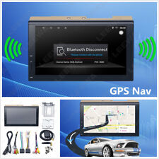 """7"""" Touch Android 6.0 Car Stereo GPS Navigator WIFI Bluetooth Multimedia Player"""