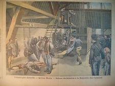 CARRIERE ARDOISE AVRILLé INDOCHINE SAÏGON Gal STOESSEL LE PETIT PARISIEN 1905
