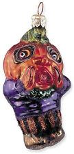 Slavic Treasures HOWLING GOBLIN Retired Polish Glass Halloween Ornament