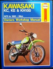 KAWASAKI KC, KE & KH100 1975 - 1993 99cc HAYNES OWNERS WORKSHOP MANUAL M1371