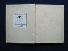 HARPO MARX COPY WITH HIS BOOKPLATE  in MAX BEERBOHM - MORE - 1899 FIRST EDITION