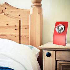 Water Powered Alarm Clock Crystal Ball Display Digital LCD Clock Loud -Red