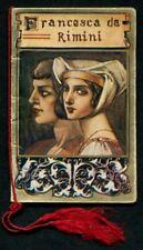 CALENDARIETTO 1931 FRANCESCA DA RIMINI - OPERA MUSICA LIRICA - ALLA FONTE TORINO
