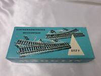 Marklin 5117 HO M Track Turnout (Pair) In Original Carton