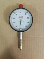 Kafer Metric Comparitor Dial Indicator DTI 50mm Dia. Range +/-0.2mm 0.005mm