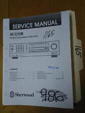 Sherwood AI-2235R Service Manual Original Repair Book Stereo Radio Amp