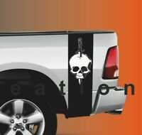 Any Truck Knife Skull Vinyl decals racing beds stripes Stickers Tacoma Tundra