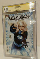 Invisible Woman #1 CGC 9.8 SS - Signed Series Adam Hughes - Marvel Comics