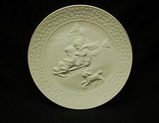 "Avon 1985 3D A Child's Christmas 8"" Porcelain Plate w 24K Gold Trim Collectible"