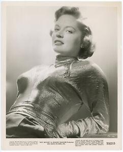 Seductive Beauty Alexis Smith 1953 Original Split Second Glamour Photograph