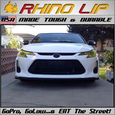 Scion xD FR-S iA iM RS Fuse BRZ Flexible Rubber Chin Lip Splitter Spoiler Trim