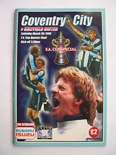 Coventry City v Sheffield United - FA Cup Quarter Final - 07/03/1998