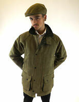 New Tweed Jacket Green Men's Country Sports Shooting Hunting S M L XL XXL XXXL