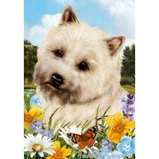 Summer Garden Flag - Wheaten Cairn Terrier 180941