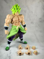 "Anime Dragon Ball Legend Broly 7"" Model Action Figures PVC Toy Super Saiyan"