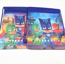 Kids Cartoon Drawstring Library Bag PJ Masks