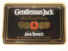 JACK DANIELS GENTLEMAN JACK 80 PROOF FRONT LABEL