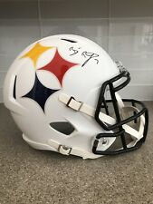 Ben Roethlisberger Signed Steelers AMP Replica Full Size Helmet Fanatics Auth.