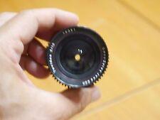 Carl Zeiss Jena Tevidon 10mm F2,0 C mount + Yeenon Adapter + Adattatore mft