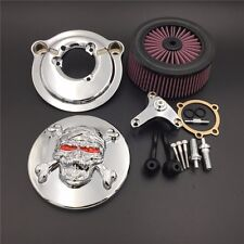 Zombie Air Cleaner Kit For Harley 2007-2017 Sportster 883 1200 Forty Eight Chrom