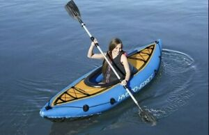 Bestway Hydro-Force Cove Champion Inflatable Kayak with Paddle, Pump & Patch ✅