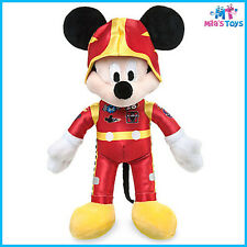 "Disney Mickey and the Roadster Racers 9 1/2"" Plush Doll brand new"