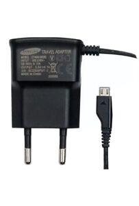 Samsung EU 2 Pin European Travel Adapter Micro USB Main Charger Wall Plug