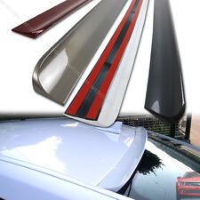 Painted FOR Volvo S40 2nd Facelift Window Roof Lip Spoiler 2008-2012 4DR Sedan§
