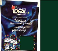 TEINTURE IDEAL TEXTILE TISSU VETEMENT VERT 42 coton lin laine polyamide