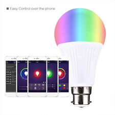 B22 WiFi APP Smart Light LED Bulb 10W RGBW for Amazon Alexa Google Home