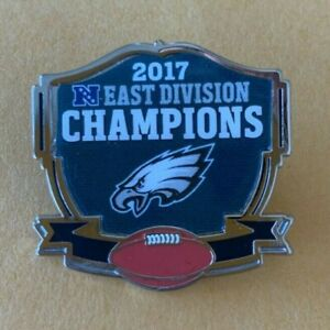 2017 NFC CONFERENCE CHAMPS SUPER BOWL 51 PIN PHILADELPHIA EAGLES EAST DIVISION