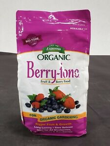 Espoma BR4 Organic Berry-Tone Granules Organic Plant Food All Natural Size 4lb