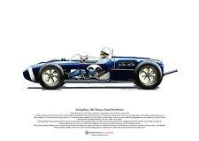 Stirling Moss Lotus 18 Monaco 1961 ART POSTER A3 size