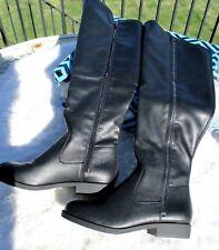 St.Johns Bay Womens Boots Black Knee ANA Bradley 6 M NWT #P